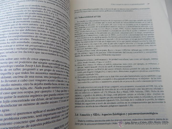 Libros de segunda mano: Biblioteca de Psicología, Psiquiatría y Salud Clínica. Sida y Psicología - Ramon Bayés, 1995 - Foto 11 - 54687353