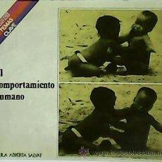 Libros de segunda mano: EL COMPORTAMIENTO HUMANO. - TORO TRALLERO, JOSEP.-. Lote 54525141