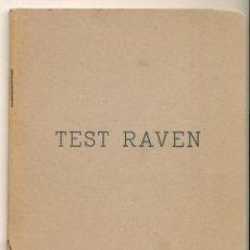 Libros de segunda mano: TEST RAVEN. . Lote 87131298