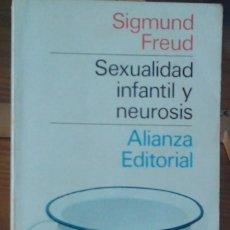 Libros de segunda mano: SEXUALIDAD INFANTIL Y NEUROSIS.. Lote 55703068