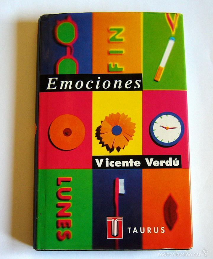 EMOCIONES - VICENTE VERDU (Libros de Segunda Mano - Pensamiento - Psicología)