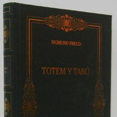 Libros de segunda mano: FREUD, SIGMUND: TÓTEM Y TABÚ (RBA) (CB). Lote 56136112