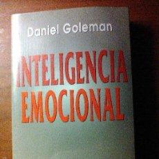 Libros de segunda mano: INTELIGENCIA EMOCIONAL. Lote 56159197