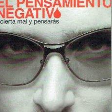 Libros de segunda mano: EL PENSAMIENTO NEGATIVO.. - RISTO MEJIDE... Lote 56361397