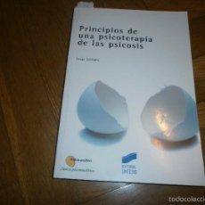 Libros de segunda mano: PRINCIPIOS DE UNA PSICOTERAPIA DE LAS PSICOSIS- SERGE LECLAIRE. ED. SÍNTESIS (2001). Lote 56870307