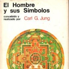 Libros de segunda mano: CARL JUNG : EL HOMBRE Y SUS SÍMBOLOS (AGUILAR, 1969) GRAN FORMATO 21X28. Lote 57155093