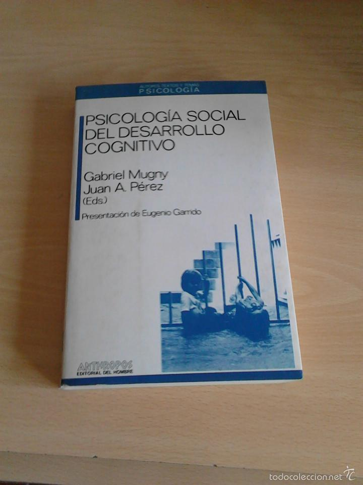 PSICOLOGIA SOCIAL DEL DESARROLLO COGNITIVO (Libros de Segunda Mano - Pensamiento - Psicología)