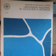 Libros de segunda mano: PSICOLOGÍA GENERAL I. JOSÉ LUIS FERNÁNDEZ TRESPALACIOS. UNED, 1983. Lote 57557006