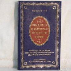 Libros de segunda mano: SIGMUND FREUD: PSICOLOGIA DE LAS MASAS - MAS ALLÁ DEL PRINCIPIO DEL PLACER - PORVENIR DE ILUSION -. Lote 57624476