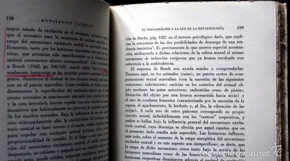 Libros de segunda mano: EL PSICOANALISIS A LA LUZ DE LA REFLEXOLOGIA - K. GAVRILOV - 1953 - PAIDOS - BUENOS AIRES - Foto 7 - 57735273