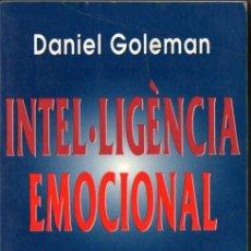 Libros de segunda mano: GOLEMAN . INTEL.LIGÈNCIA EMOCIONAL (KAIRÓS, 2001) EN CATALÁN. Lote 57768005