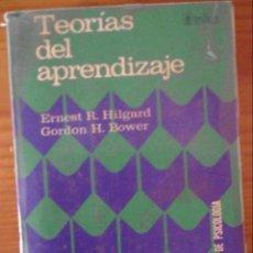 Libros de segunda mano: TEORÍAS DEL APRENDIZAJE.. Lote 57813307