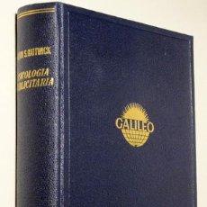 Libros de segunda mano: HATTWICK, MELVIN S. - GALILEO. PSICOLOGÍA PUBLICITARIA - BARCELONA, 1964. Lote 57850864