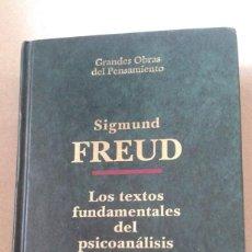 Libros de segunda mano: TEXTOS FUNDAMENTALES DEL PSICOANALISIS DE SIGMUN FREUD- EDICION 1993. Lote 58799186
