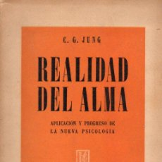 JUNG : REALIDAD DEL ALMA (LOSADA, 1946)