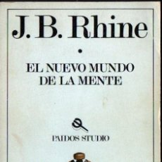 Libros de segunda mano: RHINE : EL NUEVO MUNDO DE LA MENTE (PAIDÓS, 1982). Lote 59641795