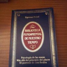 Libros de segunda mano: PSICOLOGÍA DE LAS MASAS. MÁS ALLÁ DEL PRINCIPIO DEL PLACER. EL PORVENIR DE UNA ILUSIÓN. Lote 59966259