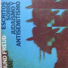 Libros de segunda mano: ESCDRITOS SOBRE JUDAISMO Y ANTISEMITISMO. SIGMUND FROID. ALIANZA EDITORIAL. 1970.. Lote 60153583