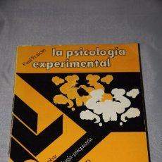 Libros de segunda mano: LA PSICOLOGIA EXPERIMENTAL. Lote 62532600