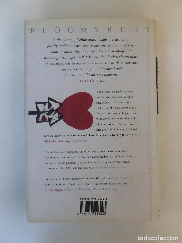 Emotional intelligence - Daniel Goleman - Ed  Bloomsbury  352pp Inglés
