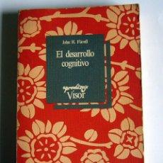 Libros de segunda mano: EL DESARROLLO COGNITIVO - JOHN H. FLAVELL. Lote 65019663