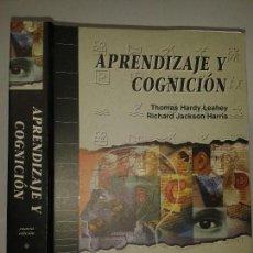 Libros de segunda mano: APRENDIZAJE Y COGNICIÓN 1997 THOMAS HARDY LEAHEY / RICHARD JACKSON HARRIS 4ª ED. PRENTICE HALL. Lote 65784542