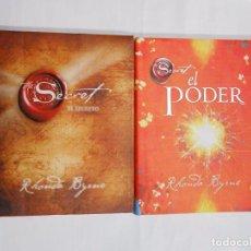 Libros de segunda mano: EL SECRETO. EL PODER. 2 LIBROS. RHONDA BYRNE. TDK160. Lote 67523729
