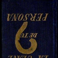 Libros de segunda mano: DARLING : LA CLAVE DE TU PERSONA (SURCO, 1947). Lote 68675177