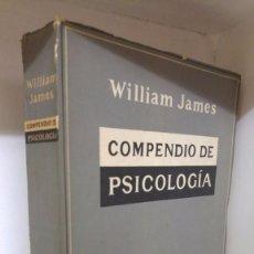 Libros de segunda mano: COMPENDIO DE PSICOLOGÍA. Lote 69633393