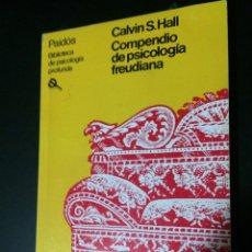 Libros de segunda mano: COMPENDIO DE PSICOLOGÍA FREUDIANA EDITORIAL PAIDÓS. Lote 70181977