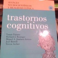 Libros de segunda mano: TRASTORNOS COGNITIVOS (MADRID, 2001). Lote 72142347