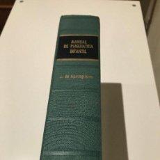 Libros de segunda mano: MANUAL DE PSIQUIATRÍA INFANTIL. AGURIAGUERRA.. Lote 74319135