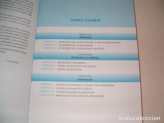 Libros de segunda mano: Manual de Psicología General I. Principios, Sensación y Aprendizaje. RM78721. - Foto 2 - 75111615