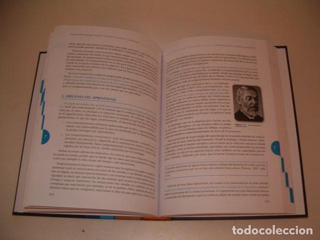 Libros de segunda mano: Manual de Psicología General I. Principios, Sensación y Aprendizaje. RM78721. - Foto 3 - 75111615