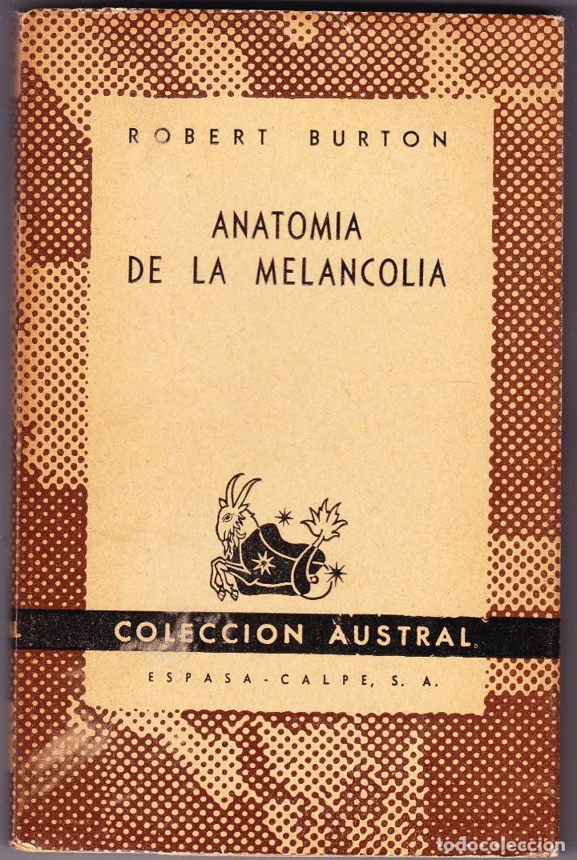 anatomia de la melancolia - robert burton - 194 - Comprar Libros de ...