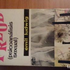 Libros de segunda mano: PSICOANALISIS SEXUAL DE FREUD. Lote 76704579