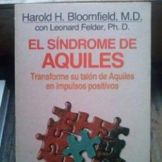 Libros de segunda mano: EL SÍNDROME DE AQUILES. HAROLD H. BLOOMFIELD. Lote 78466585