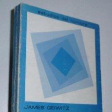 Libros de segunda mano: TEORÍAS NO FREUDIANAS DE LA PERSONALIDAD. JAMES GEIWITZ. MAROVA, . Lote 79983013