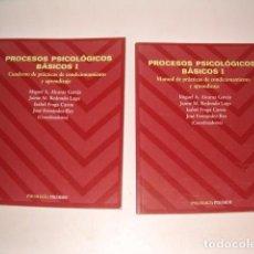 Libros de segunda mano: PROCESOS PSICOLÓGICOS BÁSICOS I. DOS TOMOS. RM79612. . Lote 81156856