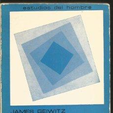 Libros de segunda mano: JAMES GEIWITZ. TEORIAS NO FREUDIANAS DE LA PERSONALIDAD. MAROVA. Lote 81718344