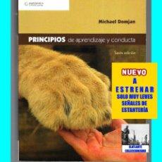 Libros de segunda mano: PRINCIPIOS DE APRENDIZAJE Y CONDUCTA - MICHAEL DOMJAN - SEXTA EDICIÓN - CON CUADERNO DE TRABAJO. Lote 83574916