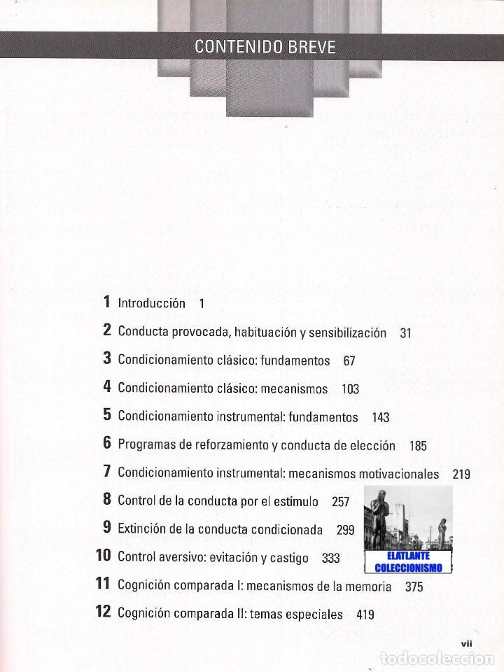 Libros de segunda mano: PRINCIPIOS DE APRENDIZAJE Y CONDUCTA - MICHAEL DOMJAN - SEXTA EDICIÓN - CON CUADERNO DE TRABAJO - Foto 4 - 83574916