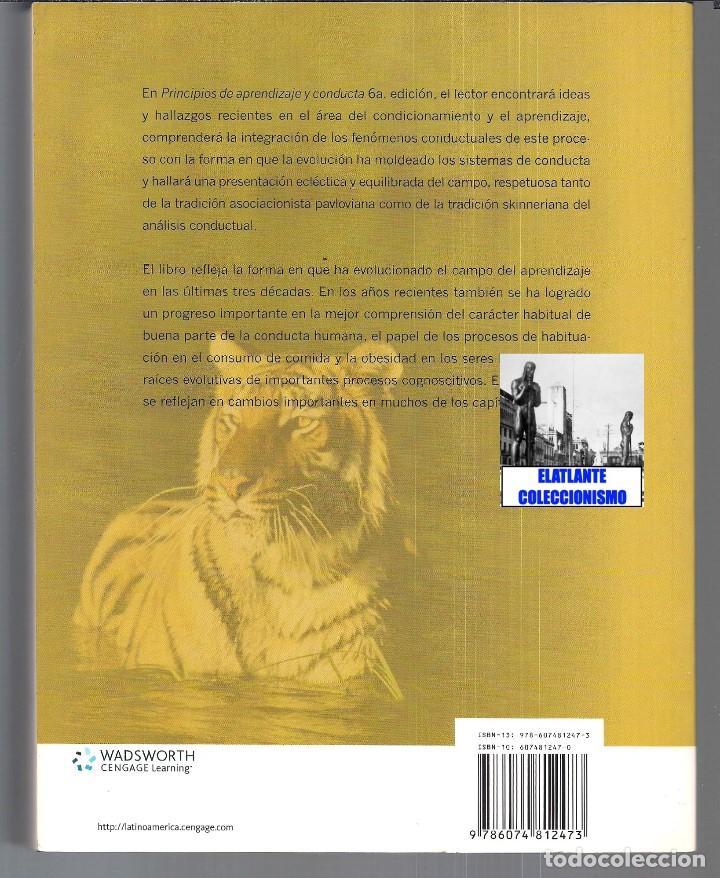Libros de segunda mano: PRINCIPIOS DE APRENDIZAJE Y CONDUCTA - MICHAEL DOMJAN - SEXTA EDICIÓN - CON CUADERNO DE TRABAJO - Foto 5 - 83574916