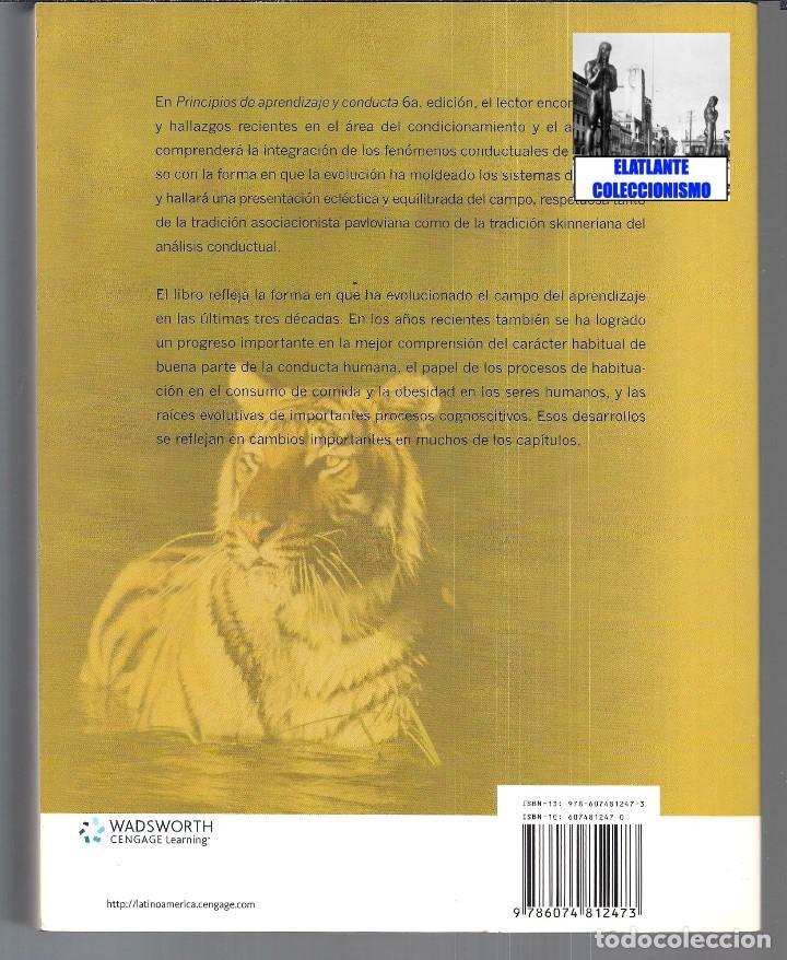 Libros de segunda mano: PRINCIPIOS DE APRENDIZAJE Y CONDUCTA - MICHAEL DOMJAN - SEXTA EDICIÓN - CON CUADERNO DE TRABAJO - Foto 6 - 83574916