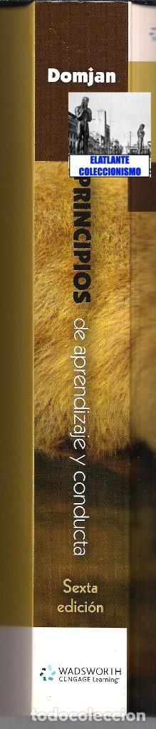Libros de segunda mano: PRINCIPIOS DE APRENDIZAJE Y CONDUCTA - MICHAEL DOMJAN - SEXTA EDICIÓN - CON CUADERNO DE TRABAJO - Foto 7 - 83574916