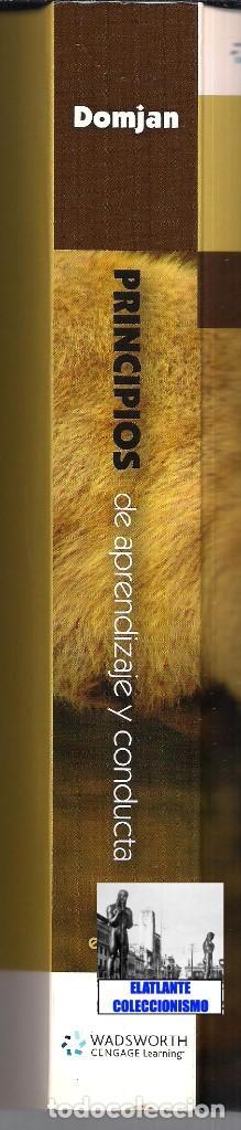 Libros de segunda mano: PRINCIPIOS DE APRENDIZAJE Y CONDUCTA - MICHAEL DOMJAN - SEXTA EDICIÓN - CON CUADERNO DE TRABAJO - Foto 8 - 83574916