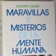 Libros de segunda mano: MARAVILLAS Y MISTERIOS DE LA MENTE HUMANA - READER'S DIGEST MÉXICO 1992 - VER DESCRIPCIÓN. Lote 85648292