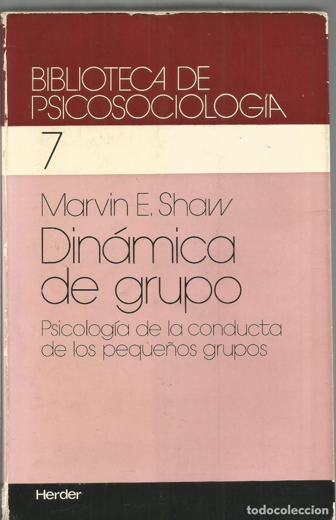 Marvin E Shaw Dinamica De Grupo Herder Kaufen Bücher über