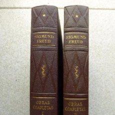 SIGMUND FREUD- OBRAS COMPLETAS. DOS TOMOS. ED: BIBLIOTECA NUEVA MADRID 1948