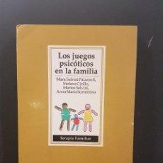 Libros de segunda mano: LOS JUEGOS PSICÓTICOS EN LA FAMILIA,TERAPIA FAMILIAR.. Lote 89820636